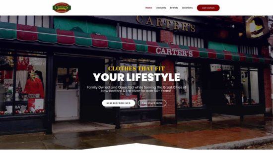 Carters Clothing – Local